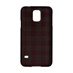 Plaid Pattern Samsung Galaxy S5 Hardshell Case  by ValentinaDesign