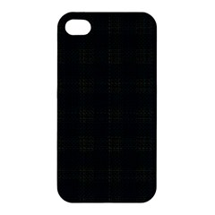 Plaid Pattern Apple Iphone 4/4s Premium Hardshell Case by ValentinaDesign