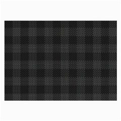 Plaid pattern Large Glasses Cloth by ValentinaDesign