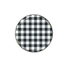 Plaid Pattern Hat Clip Ball Marker by ValentinaDesign