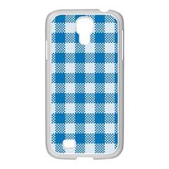 Plaid Pattern Samsung Galaxy S4 I9500/ I9505 Case (white) by ValentinaDesign