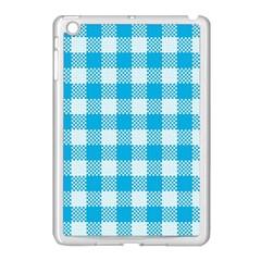 Plaid Pattern Apple Ipad Mini Case (white) by ValentinaDesign