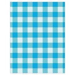 Plaid Pattern Drawstring Bag (large) by ValentinaDesign