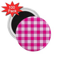 Plaid Pattern 2 25  Magnets (100 Pack)  by ValentinaDesign