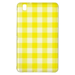 Plaid Pattern Samsung Galaxy Tab Pro 8 4 Hardshell Case by ValentinaDesign