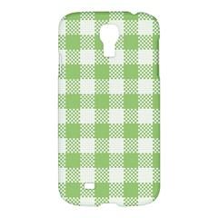 Plaid Pattern Samsung Galaxy S4 I9500/i9505 Hardshell Case by ValentinaDesign