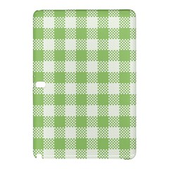 Plaid Pattern Samsung Galaxy Tab Pro 12 2 Hardshell Case by ValentinaDesign