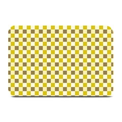 Plaid Pattern Plate Mats by ValentinaDesign