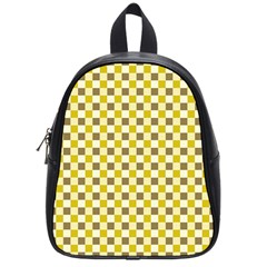 Plaid Pattern School Bags (small)  by ValentinaDesign