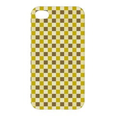 Plaid Pattern Apple Iphone 4/4s Hardshell Case by ValentinaDesign