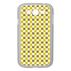 Plaid Pattern Samsung Galaxy Grand Duos I9082 Case (white) by ValentinaDesign