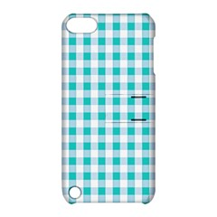 Plaid Pattern Apple Ipod Touch 5 Hardshell Case With Stand by ValentinaDesign