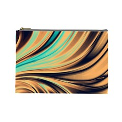 Colors Cosmetic Bag (large)  by ValentinaDesign