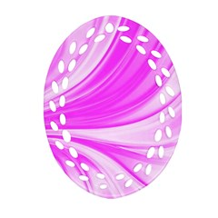 Colors Oval Filigree Ornament (two Sides) by ValentinaDesign