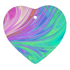 Colors Ornament (heart) by ValentinaDesign