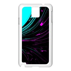 Colors Samsung Galaxy Note 3 N9005 Case (white) by ValentinaDesign