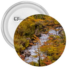 Colored Forest Landscape Scene, Patagonia   Argentina 3  Buttons by dflcprints