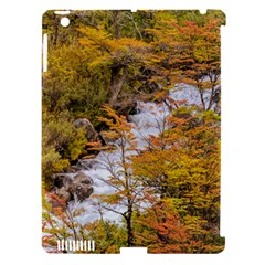 Colored Forest Landscape Scene, Patagonia   Argentina Apple Ipad 3/4 Hardshell Case (compatible With Smart Cover) by dflcprints