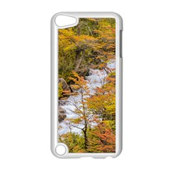 Colored Forest Landscape Scene, Patagonia   Argentina Apple Ipod Touch 5 Case (white) by dflcprints