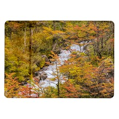 Colored Forest Landscape Scene, Patagonia   Argentina Samsung Galaxy Tab 10 1  P7500 Flip Case by dflcprints