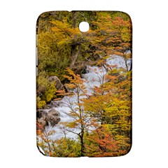 Colored Forest Landscape Scene, Patagonia   Argentina Samsung Galaxy Note 8 0 N5100 Hardshell Case  by dflcprints