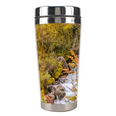 Colored Forest Landscape Scene, Patagonia   Argentina Stainless Steel Travel Tumblers by dflcprints