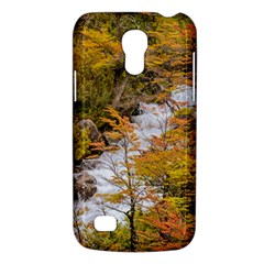 Colored Forest Landscape Scene, Patagonia   Argentina Galaxy S4 Mini by dflcprints