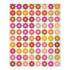Multicolored Floral Pattern Shower Curtain 60  X 72  (medium)  by linceazul