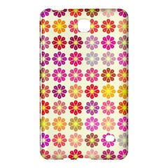 Multicolored Floral Pattern Samsung Galaxy Tab 4 (8 ) Hardshell Case  by linceazul
