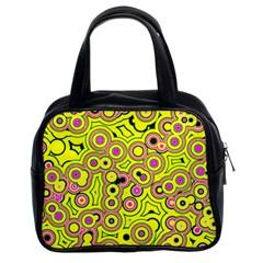 Bubble Fun 17d Classic Handbags (2 Sides) by MoreColorsinLife