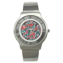 Bubble Fun 17b Stainless Steel Watch by MoreColorsinLife