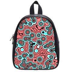 Bubble Fun 17b School Bags (small)  by MoreColorsinLife