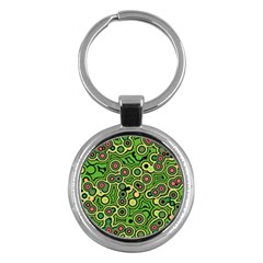 Bubble Fun 17c Key Chains (round)  by MoreColorsinLife