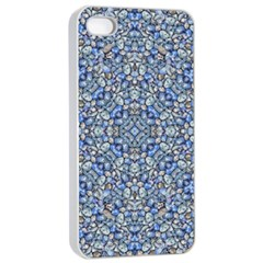 Geometric Luxury Ornate Apple Iphone 4/4s Seamless Case (white) by dflcprints