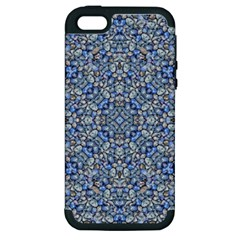 Geometric Luxury Ornate Apple Iphone 5 Hardshell Case (pc+silicone) by dflcprints