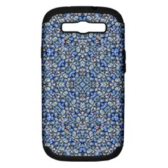 Geometric Luxury Ornate Samsung Galaxy S Iii Hardshell Case (pc+silicone) by dflcprints