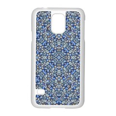Geometric Luxury Ornate Samsung Galaxy S5 Case (white) by dflcprints