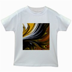 Colors Kids White T Shirts by ValentinaDesign