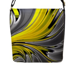 Colors Flap Messenger Bag (l)  by ValentinaDesign