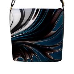 Colors Flap Messenger Bag (l)  by ValentinaDesign