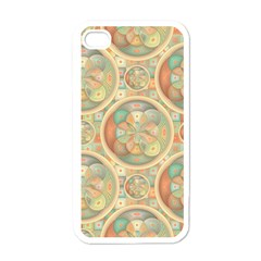 Complex Geometric Pattern Apple Iphone 4 Case (white) by linceazul