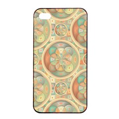 Complex Geometric Pattern Apple Iphone 4/4s Seamless Case (black) by linceazul