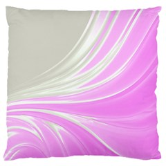 Colors Large Flano Cushion Case (one Side) by ValentinaDesign