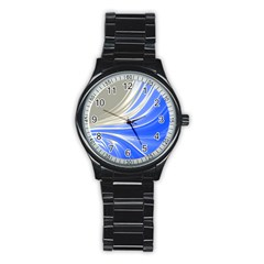 Colors Stainless Steel Round Watch by ValentinaDesign
