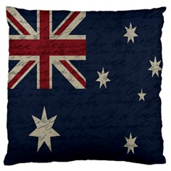 Vintage Australian Flag Standard Flano Cushion Case (two Sides) by ValentinaDesign