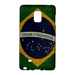 Vintage Flag   Brasil Galaxy Note Edge by ValentinaDesign