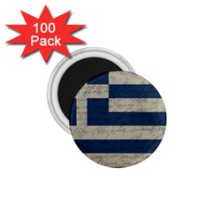 Vintage Flag   Greece 1 75  Magnets (100 Pack)  by ValentinaDesign