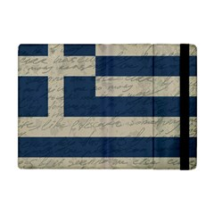 Vintage Flag   Greece Apple Ipad Mini Flip Case by ValentinaDesign