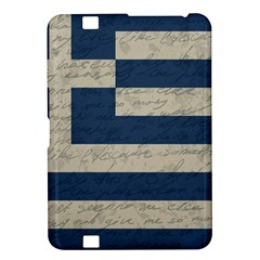 Vintage Flag   Greece Kindle Fire Hd 8 9  by ValentinaDesign