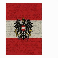 Vintage Flag   Austria Small Garden Flag (two Sides) by ValentinaDesign
